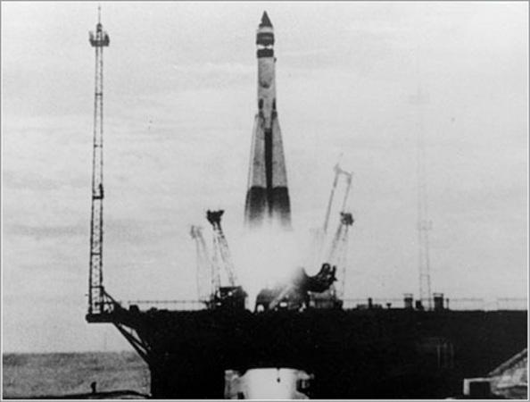 4 de Octubre 1957, lanzamiento del primer Sputnik ruso al espacio