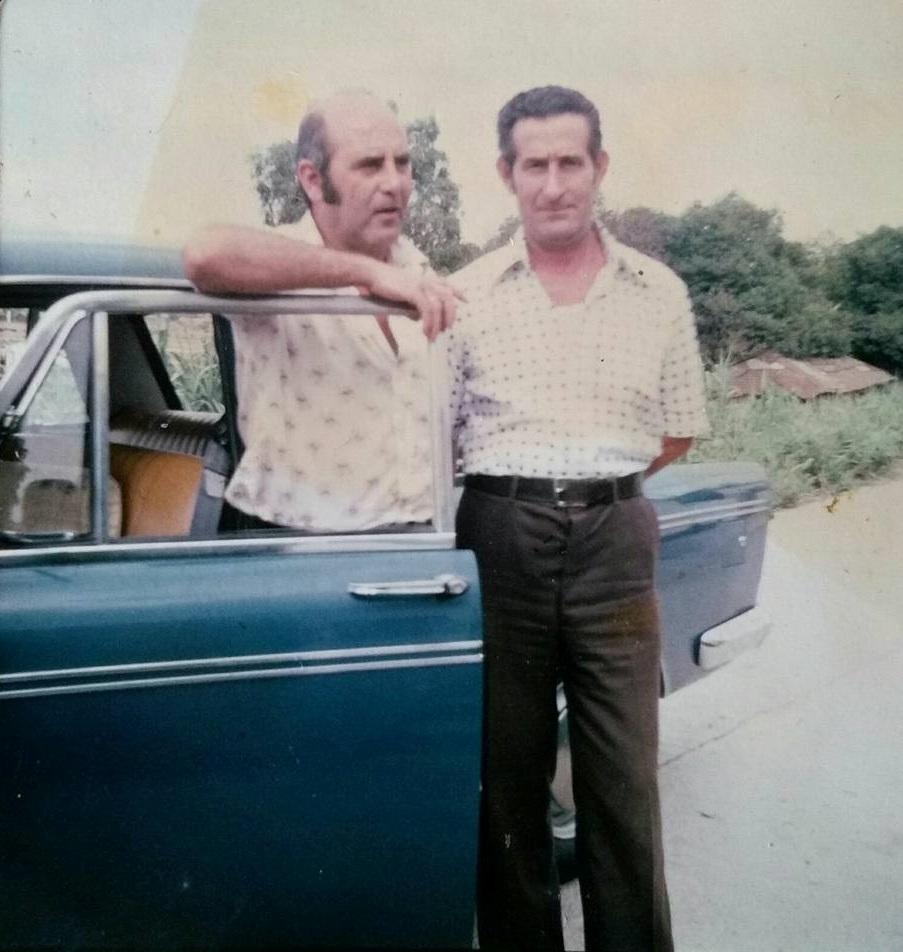 Aurelio Collado, el taxista de Jimena. Foto de la familia Collado.