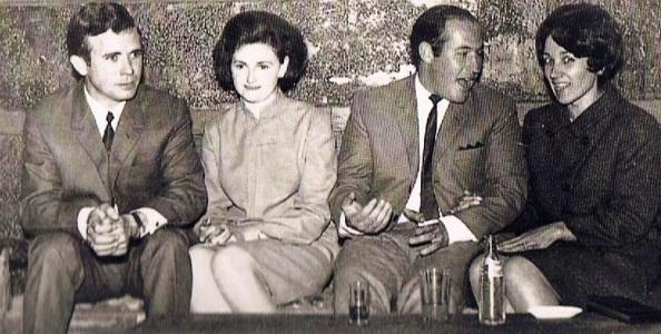 Francisco Herrra Fernández, Loli Castilla Luque, Bartolo LuqueBarranco, y Matilde Cárdenas Castillo