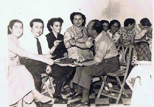 Antonio Cuenca y familia