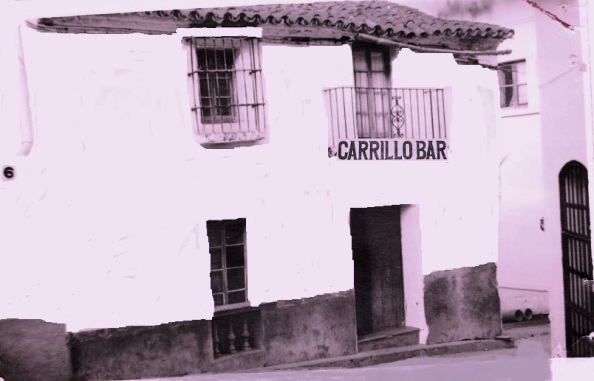 Bar Carrillo, ya cerrado y un tanto deteriorado al que he remozado. Foto: Cedida por Miguel Ángel Gómez, nieto del dueño del bar