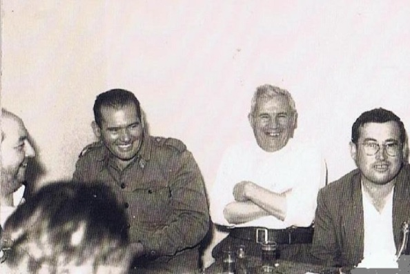 José Sánchez, Juan Rodríguez, Sebastián Jiménez Herrera y Juan Jiménez. Foto: Ediciones OBA
