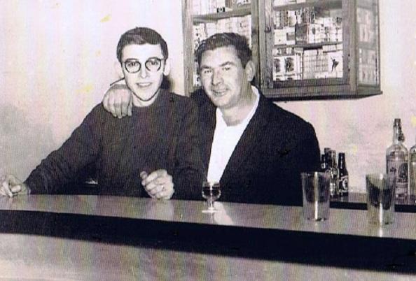 Bar Luque de la Estación. Juan luis Luque Quirós y Miguel caballero Espejo.