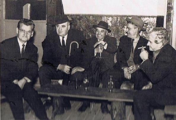 Miguel Cárdenas Urbano, Martín Álvarez Sánchez, Francisco Ramos Saavedra, Andrés Gutiérrez Gómez, Ricardo Díaz Sánchez. Foto: Ediciones OBA