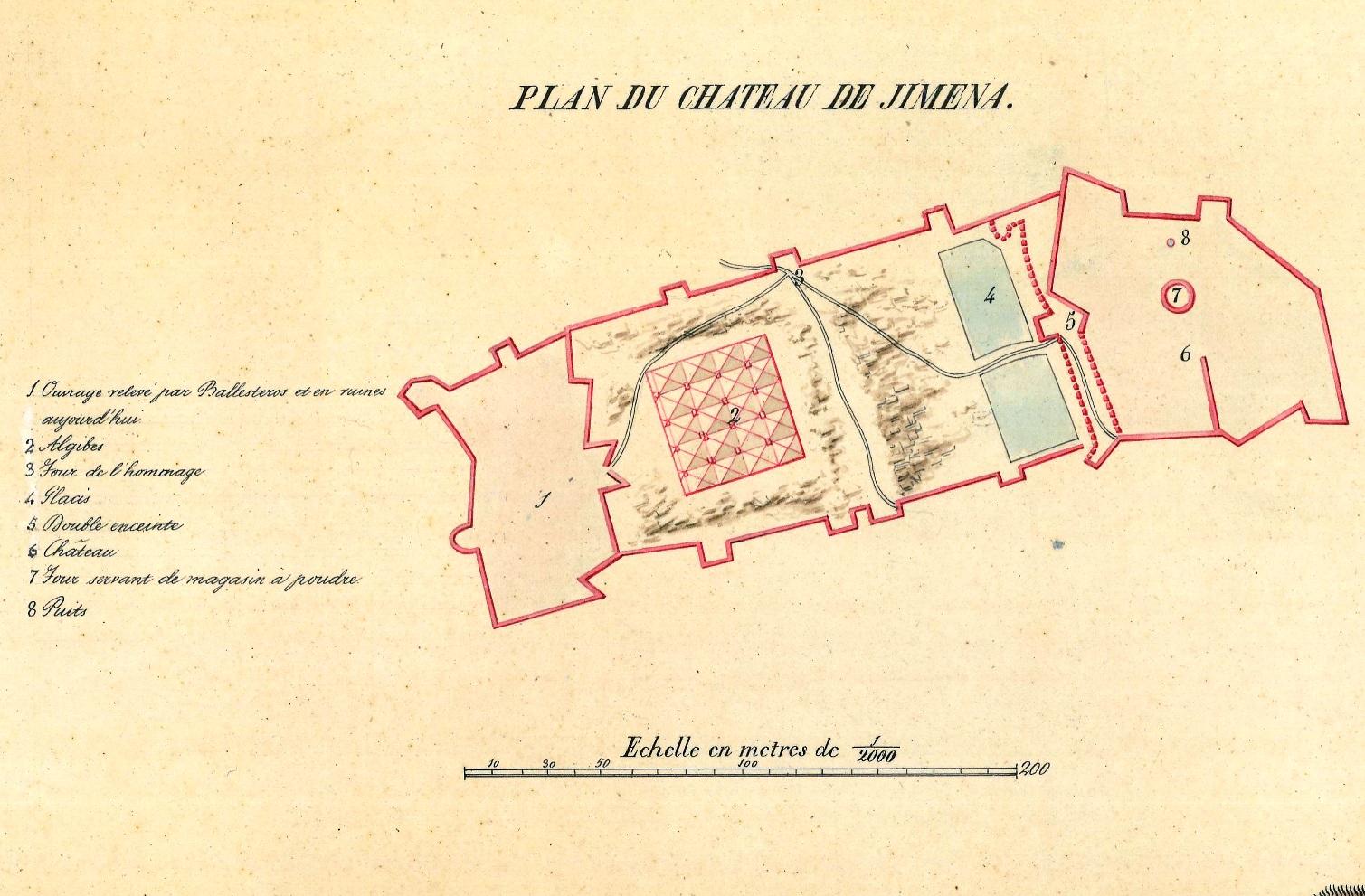 Castillo de jimena siglo XIX.jpg petit