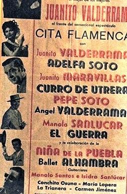 Los carteles anunciadores de aquellas giras.