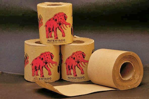 Papel higiénico El Elefante.