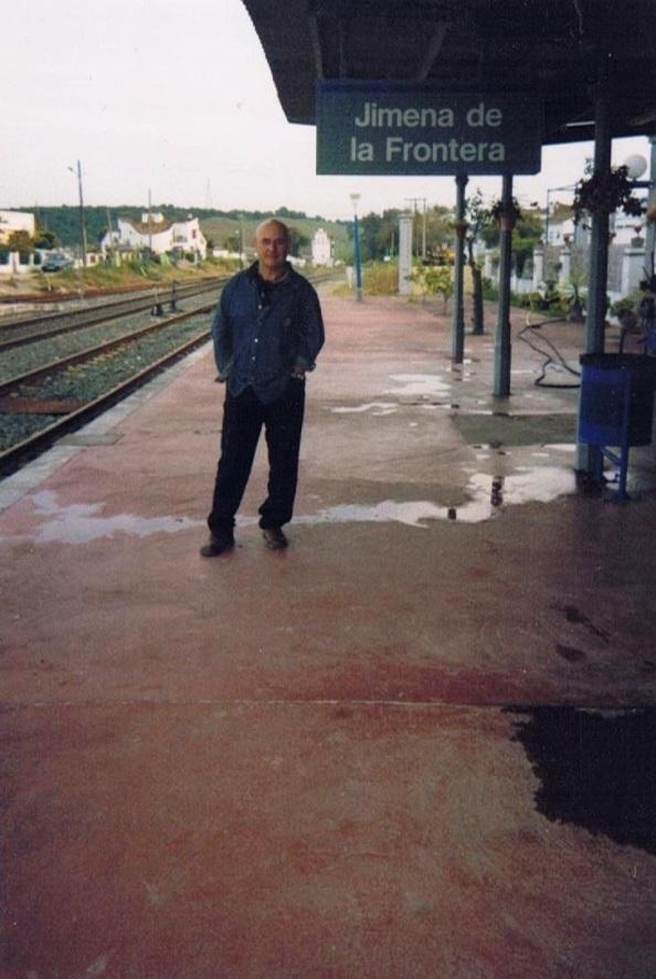 Estación de tren de Jimena. Foto propia.