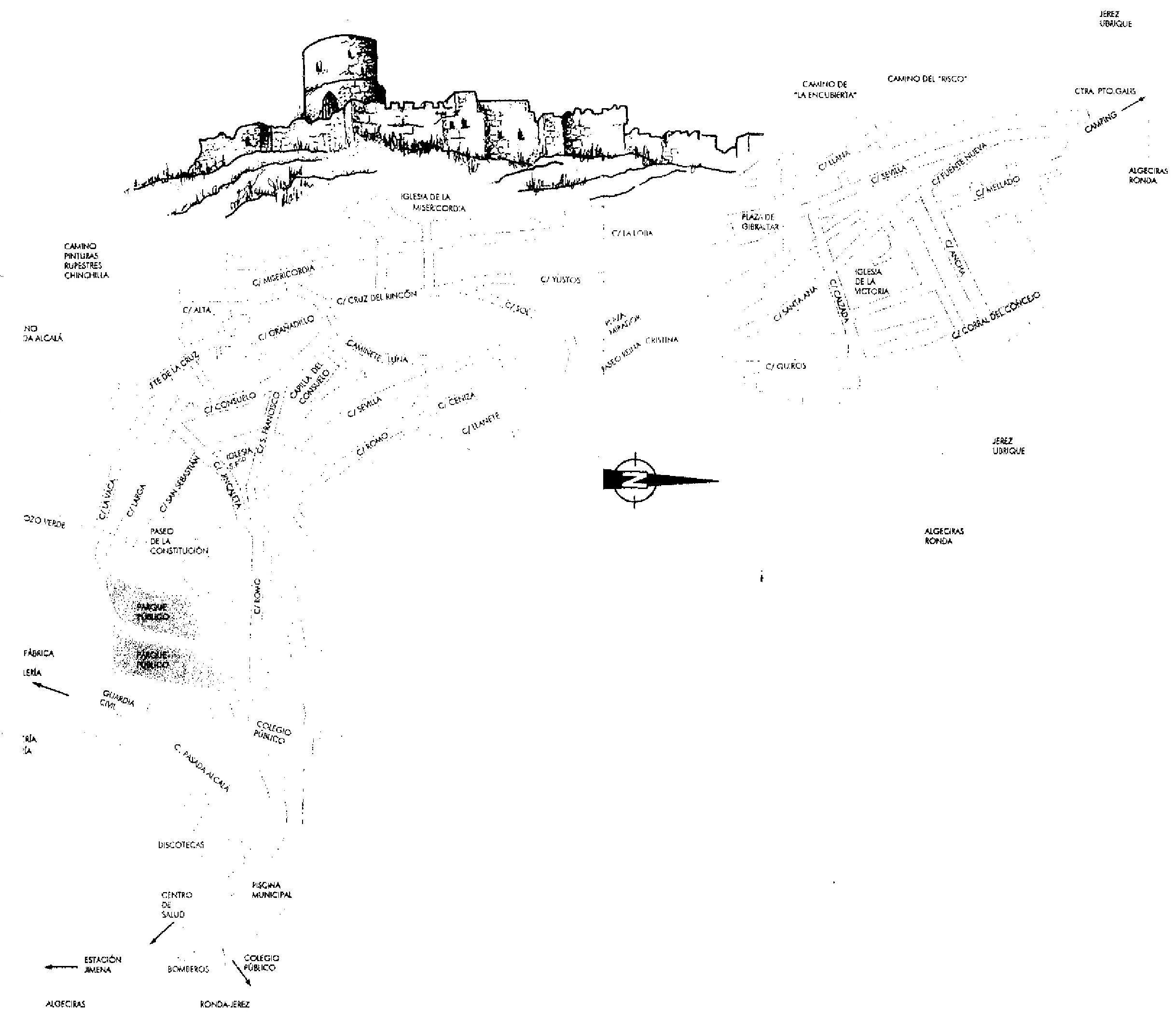 Jimena plano historia
