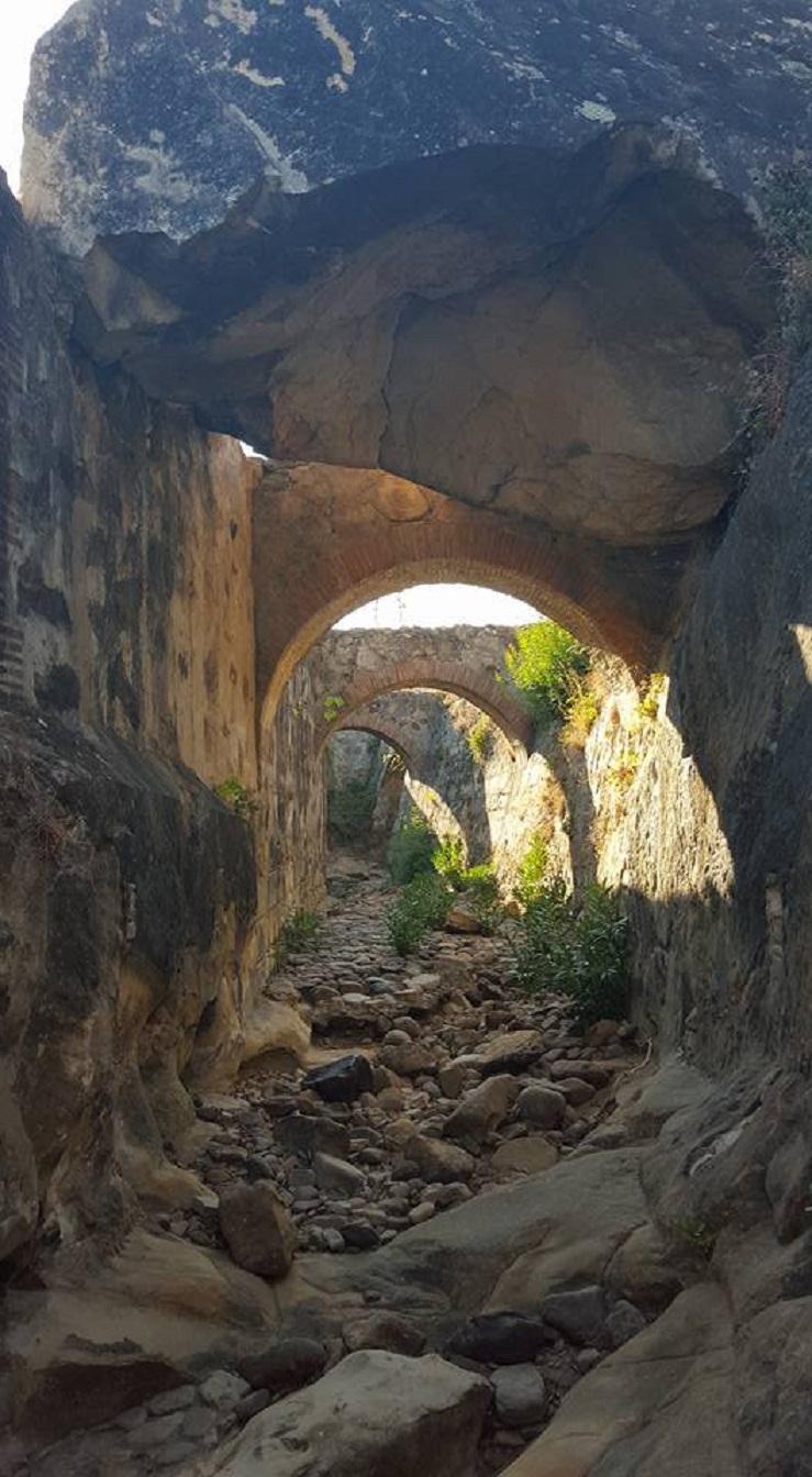 Canalización de agua del río Hozgarganta con destino a la fundición de la Real Fábrica de Artillería de Jimena.