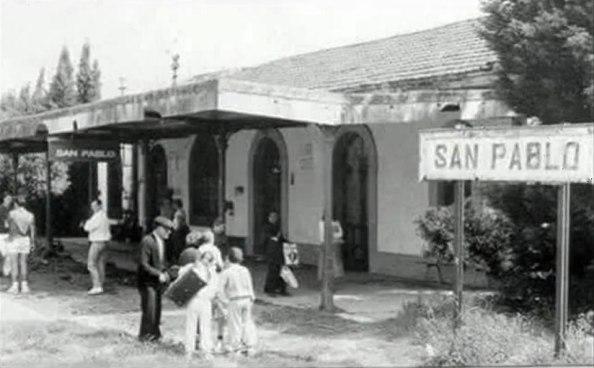 Estación de tren de San Pablo.