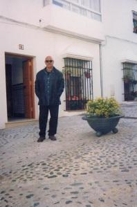 Visita a la calle Sansebastián y al portal que me vio nacer. Foto propia