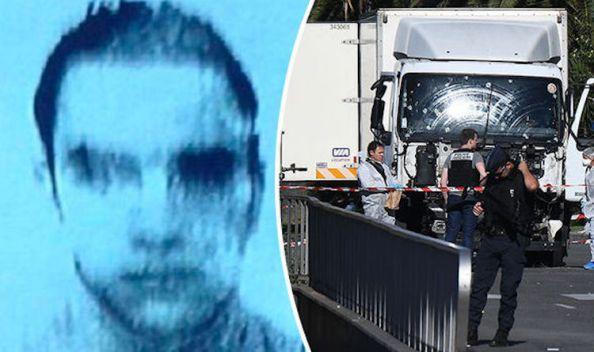 Mohamed Lahouaiej Bouhlel presunto autor de la matanza de Niza conduciendo un camión frogorífico para arrollar indiscriminadamente contra sus habitantes