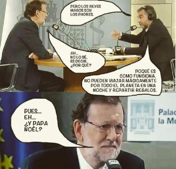 Parafraseando la famosa entrevista que le hizo el periodista Carlos Alsina a Mariano Rajoy donde no supo contestar a qué se define como nacionalidad española, lo de explicar sus acuerdos ahora con los independentistas o nacionalistas, sería demasiado para él.
