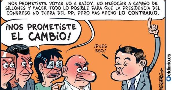 Contento tedrá Rivera a sus votantes regeneracionistas...