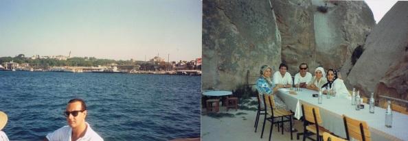 Visita que realicé en 1990 a lo largo de todo Turquía, nada que ver con la situación actual