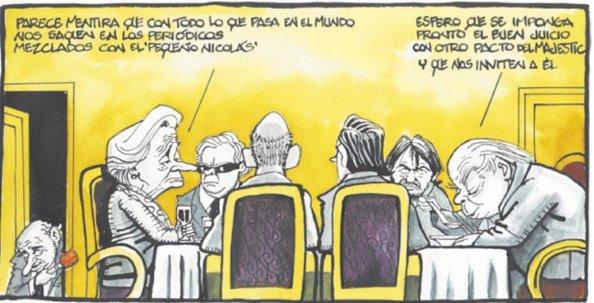 Con nostalgia para la reedición del pacto de 1996 de Aznar