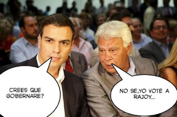 El cirio interno en el PSOE.