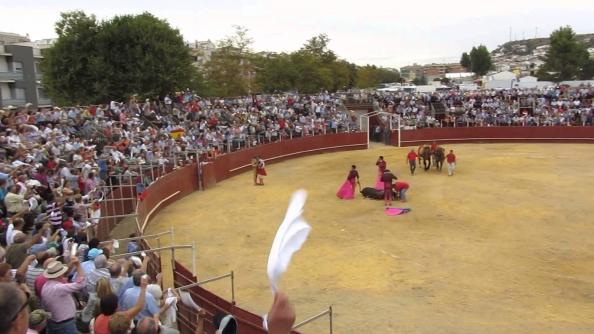 plaza de toros de Alcalá la Real San Mateos 2017