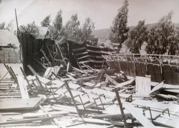 plaza de toros de Jimena eucaliptal 1961