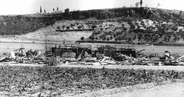 plaza de toros derruida de alcalá la real