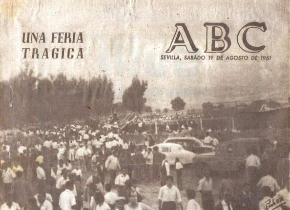plaza de toros jimena pabón gómez ABC Sevilla 19 agosto 1961