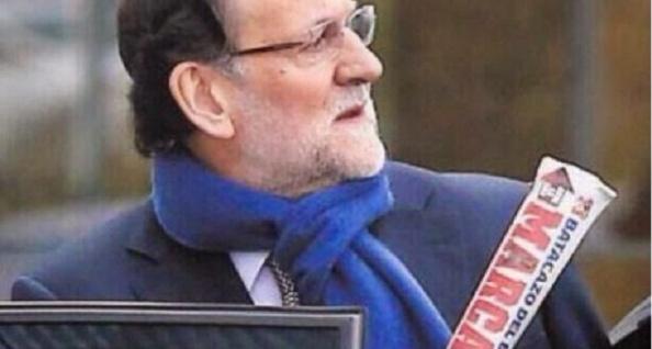 Rajoy, miestras tanto a lo suyo, leer el Marca. El que más triunfos logra sin mover un solo músculo, por deméritos de los demás