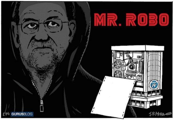 rajoy mister robo
