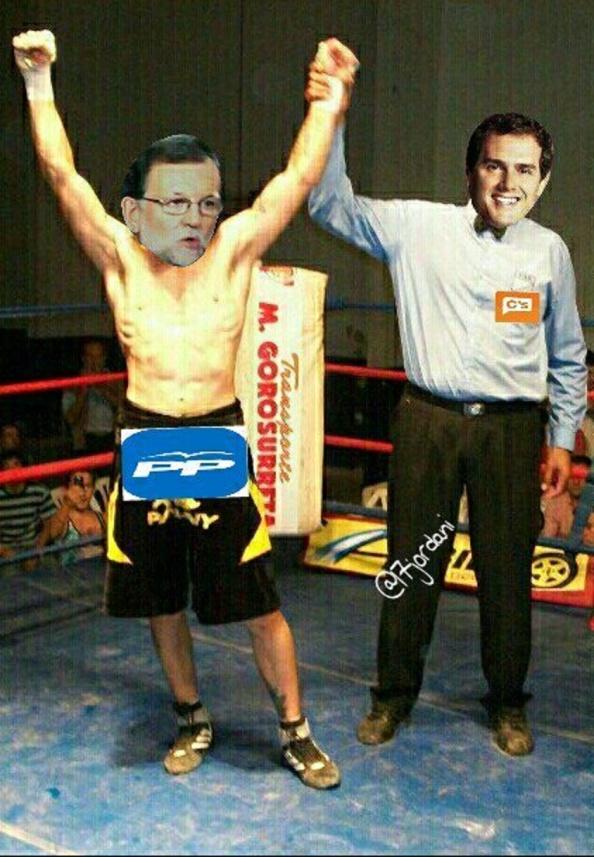 Rivera entrega a Rajoy la encomienda de regeneral España