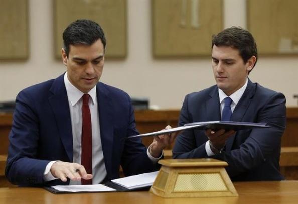 Acuerdo en la anterior legislatura PSOE-Cs
