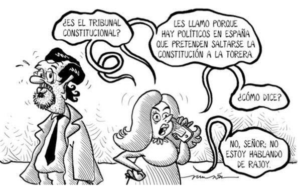 Rajoy y Soraya, ¿constitucionalistas?