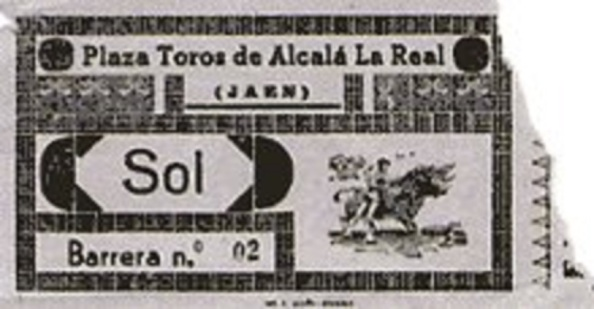 Entrada a los toros de Alcalá