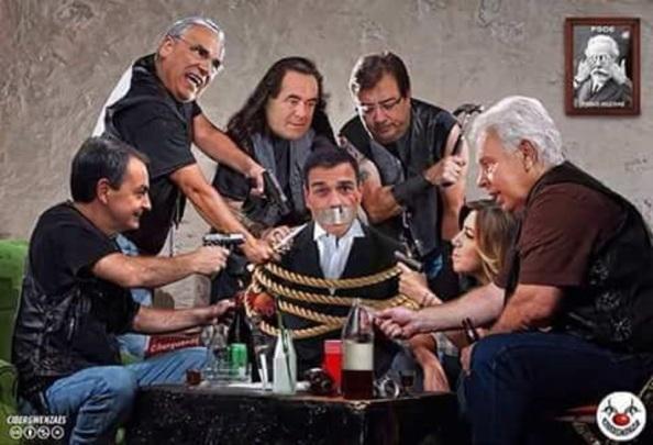 Incomprensible la situación en que las baronías y veteranías tienen sometidos a Pedro Sánchez, solo temido por el apoyo de que goza entre las bases socialistas.