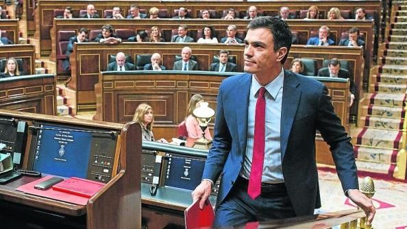 Pedro Sánchez, la ´´unica opción una vez investido de formar un Gobierno de Progreso.