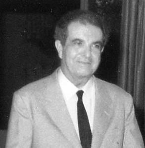 Don Antonio Ojeda, practicante de San Pablo.
