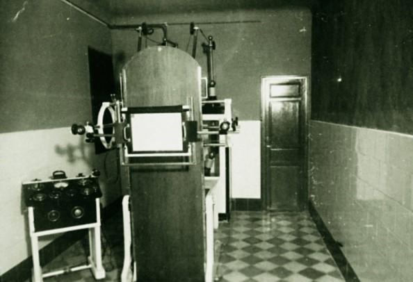 La sanidad de jimena 1950 1970 2 parte for Cuarto de rayos x