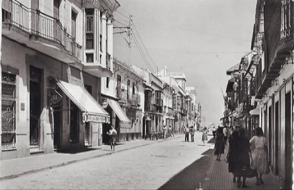 Algeciaras, calle Ancha. 1959