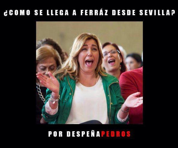 Tiempo podrá haber si Susana Díaz se encaja en Madrid para hacer política nacional. Otro gallo le cantará