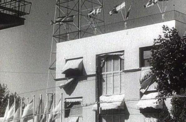 En octubre de 1956 se había inaugurado los estudios de tve sito en el Paseo-de-la-Habana-san-pablo