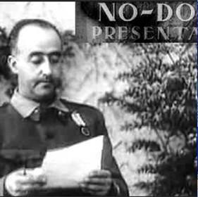Como si fuera el No-Do, Franco y su propaganda se coló en los bares y hogares de los jimenatos