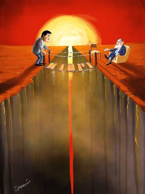 La abstención es la senda minada de riesgos hacia el abismo