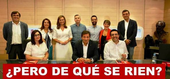 La Comisión Gestora, no contemplada en los Estatutos del PSOE