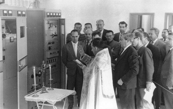 Inauguración de la torreta de Guadalcabal, 1 de Octubre 1961