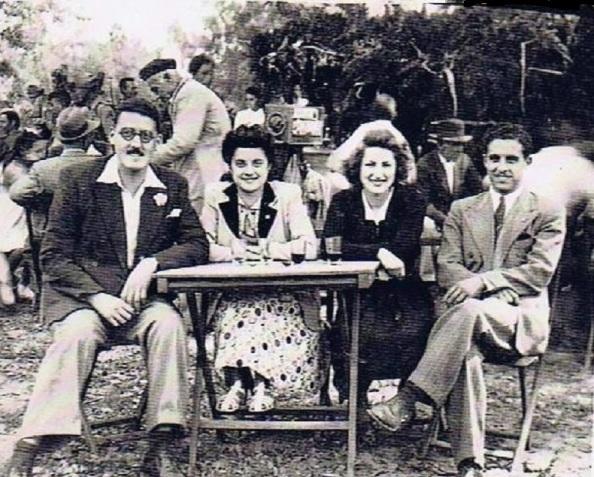año 1945 eulalia y pérez gil almoraima 1947 jimena