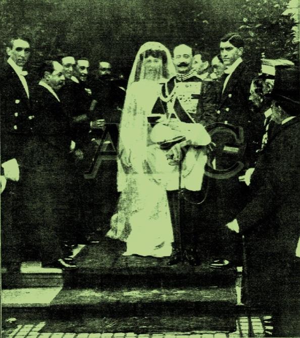 Primera boda del Duque de Medinaceli