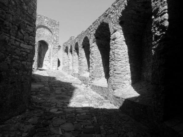 Interior del Castillo de Castellar
