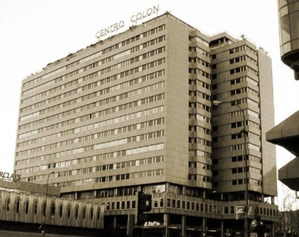 La paecela del Palacio de Medimceli en Madrid dio paso al Centro Colón en uno de los atentados urbanísticos más horrorosos que se han llevado a cabo.