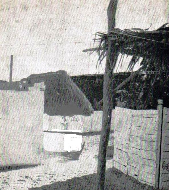 El chabolismo era lo predominante entre los pobladores del municipio de Castellar que vivían extramuros al Castillo