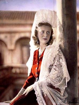 La Duquesa María Victoria Fernández de Córdoba y Fernández