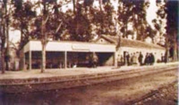 Estación apeadero de Almoraima para uso exclusivo del Duquesado de Medinaceli